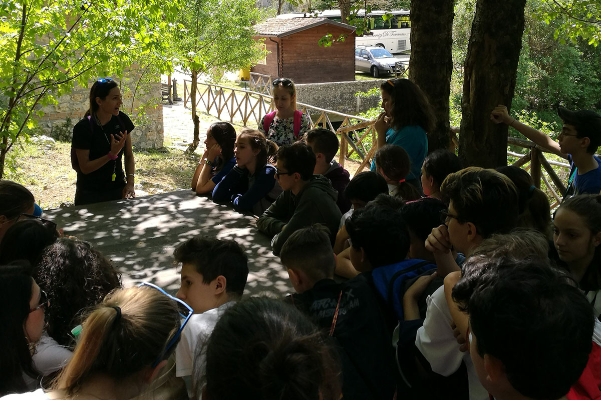 Grotte di Val de' Varri ed educazione ambientale